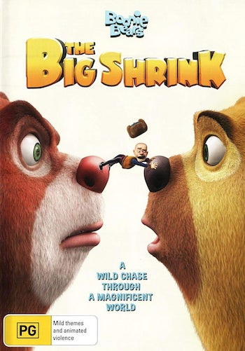 Boonie Bears - The Big Shrink 2018 Dual Audio Hindi Movie Download