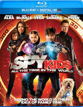 Spy Kids 4 - All The Time In The World 2011 Dual Audio Hindi Bluray Movie Download