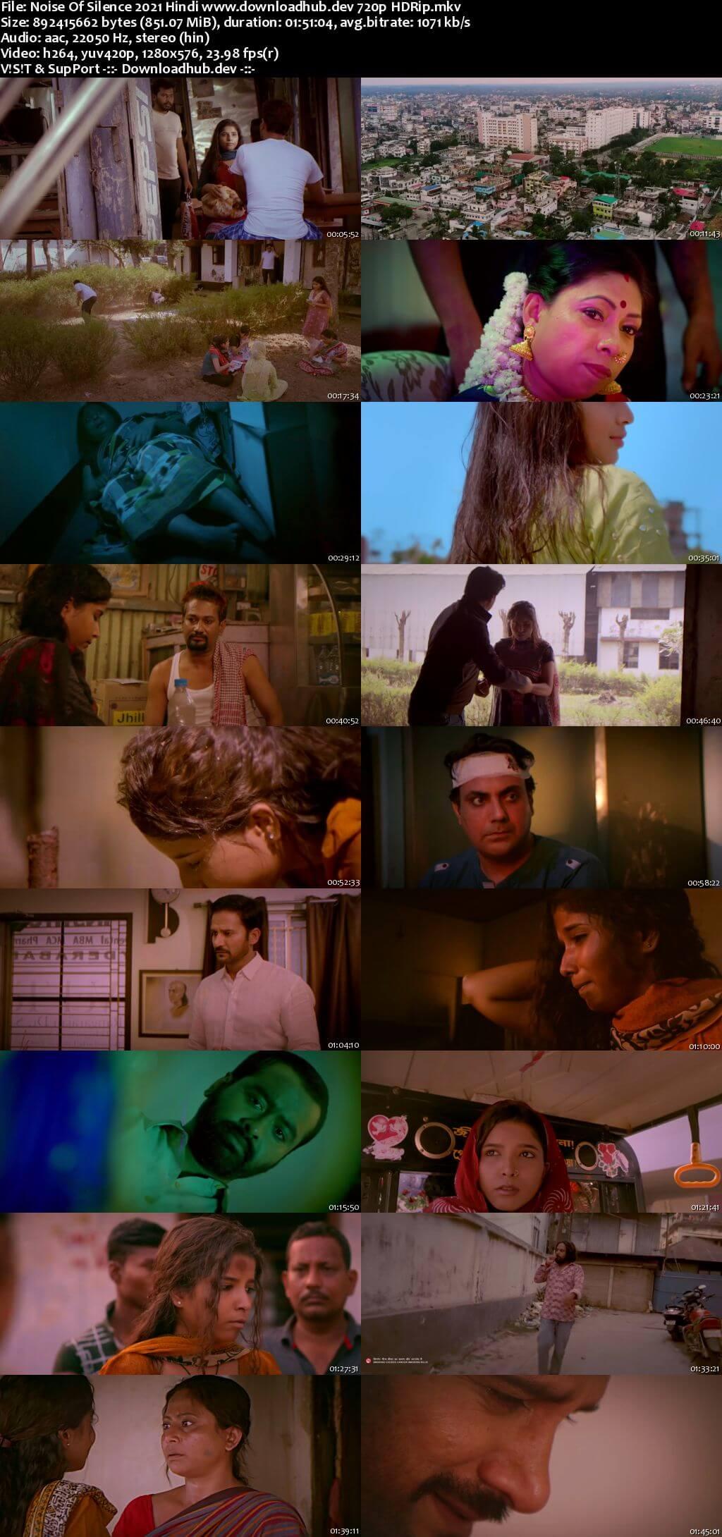 Noise of Silence 2021 Hindi 720p HDRip x264