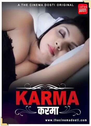 18+ Karama 2021 CinemaDosti Hindi Hot Web Series 720p HDRip x264 60MB