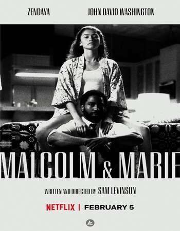 Malcolm And Marie 2021 English 720p Web-DL 900MB ESubs