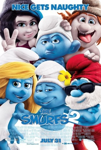 The Smurfs 2 2013 Dual Audio Hindi English BRRip 720p 480p Movie Download