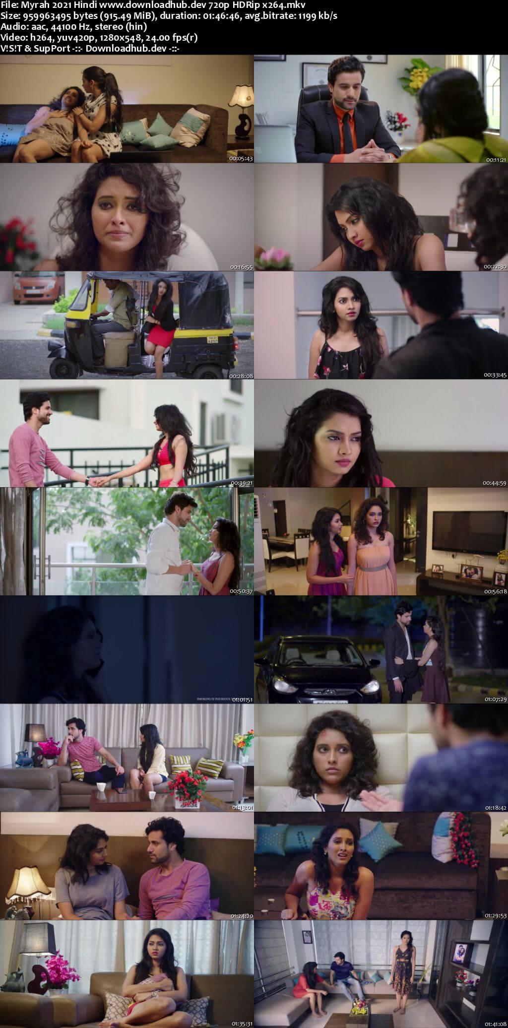 Myrah 2021 Hindi 720p HDRip x264