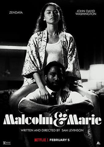 Malcolm & Marie 2021 English 480p HDRip x264 340MB ESubs
