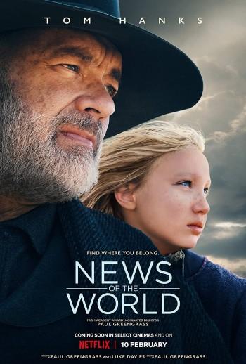 News Of The World 2020 Dual Audio Hindi English Web-DL 720p 480p Movie Download