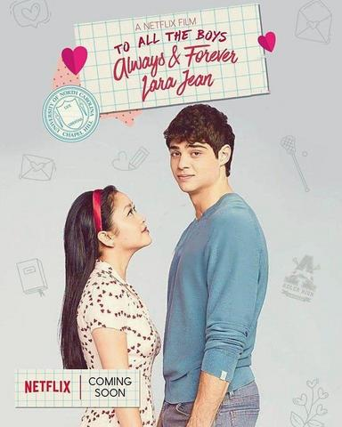 To All the Boys Always and Forever 2021 Dual Audio Hindi 480p WEB-DL x264 350MB ESubs