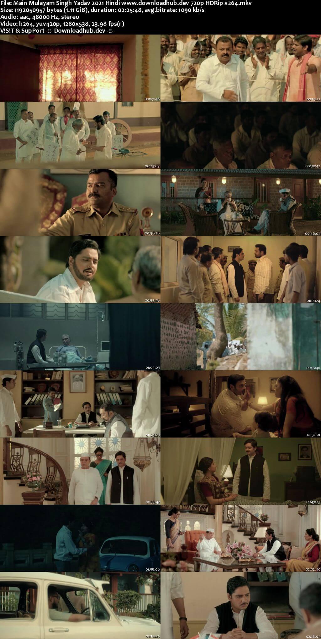 Main Mulayam Singh Yadav 2021 Hindi 720p HDRip x264