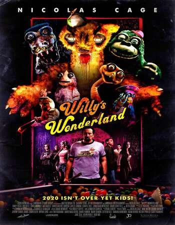 Willys Wonderland 2021 English 720p Web-DL 750MB ESubs