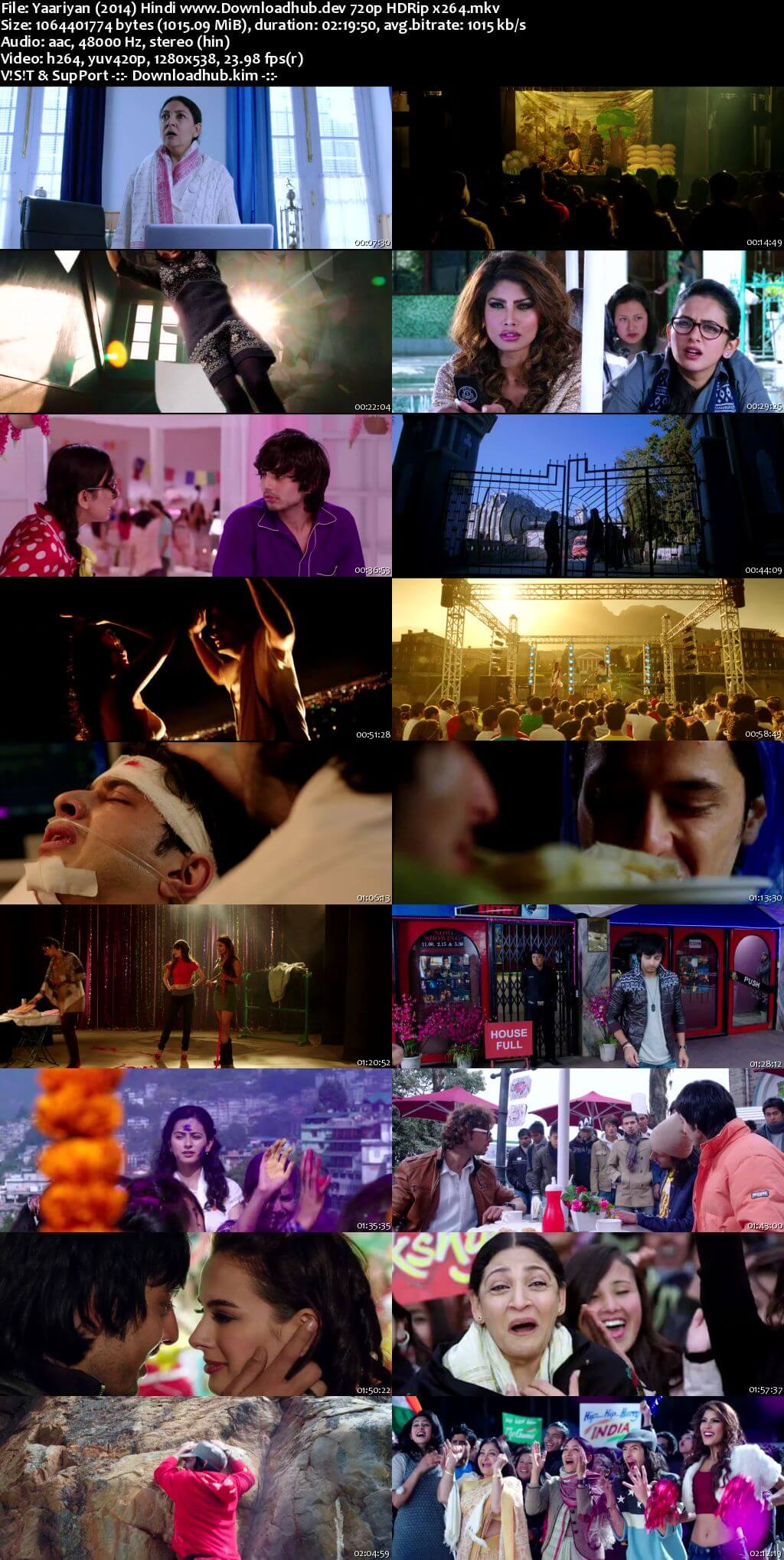 Yaariyan 2014 Hindi 720p HDRip x264