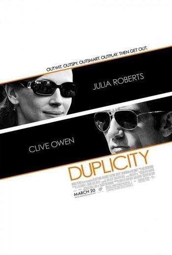 Duplicity 2009 Dual Audio Hindi English BRRip 720p 480p Movie Download