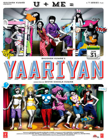 Yaariyan 2014 Hindi 720p HDRip x264