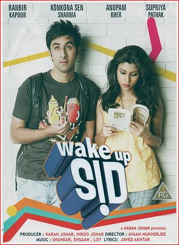 Wake Up Sid 2009 Hindi 480p HDRip x264 400MB ESubs