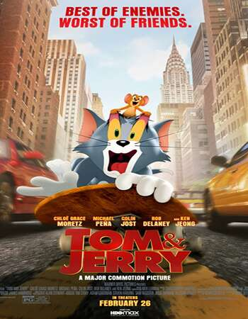 Tom and Jerry 2021 English 720p HDCAM x264