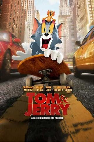 Tom and Jerry 2021 English 480p HDCAMRip x264 300MB