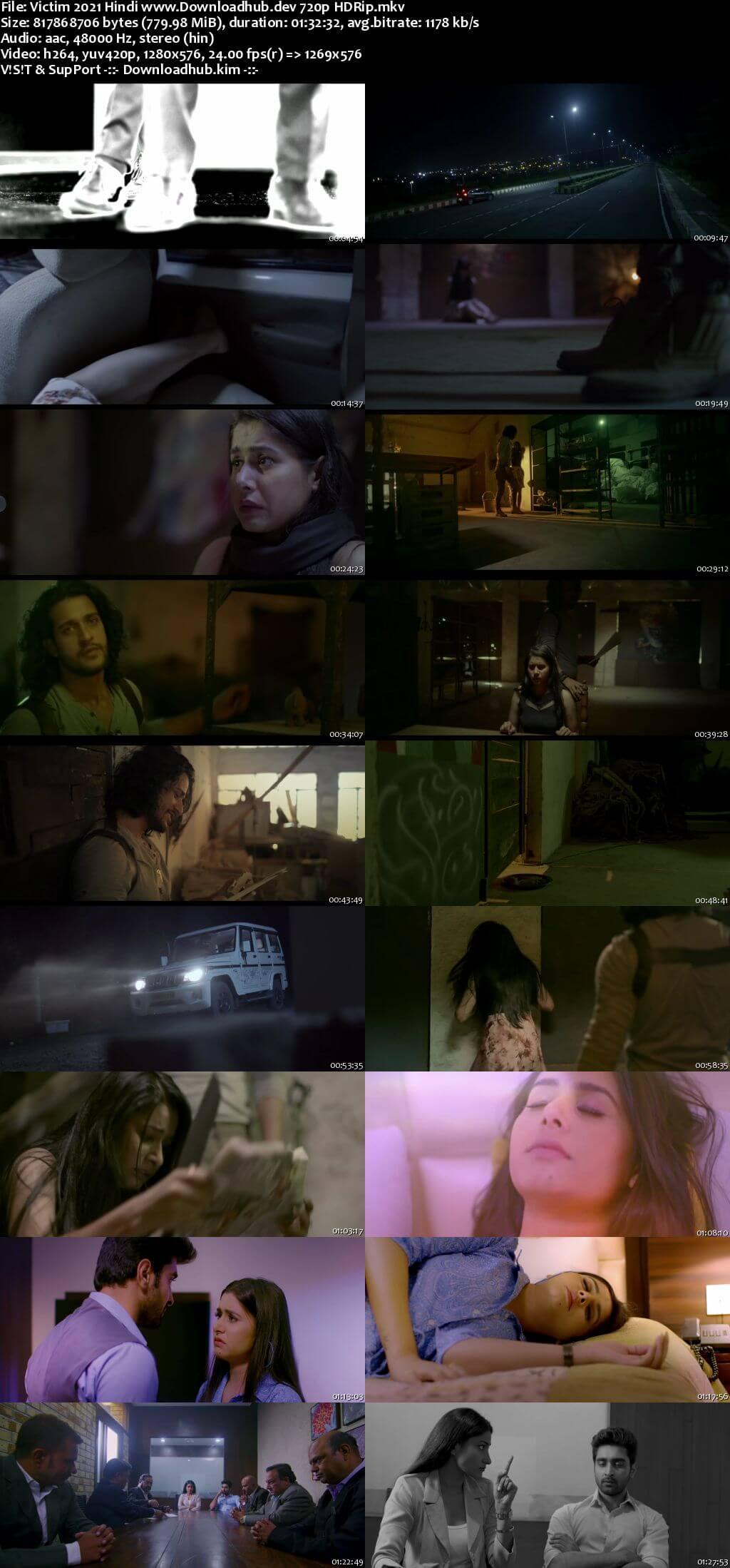 Victim 2021 Hindi 720p HDRip x264
