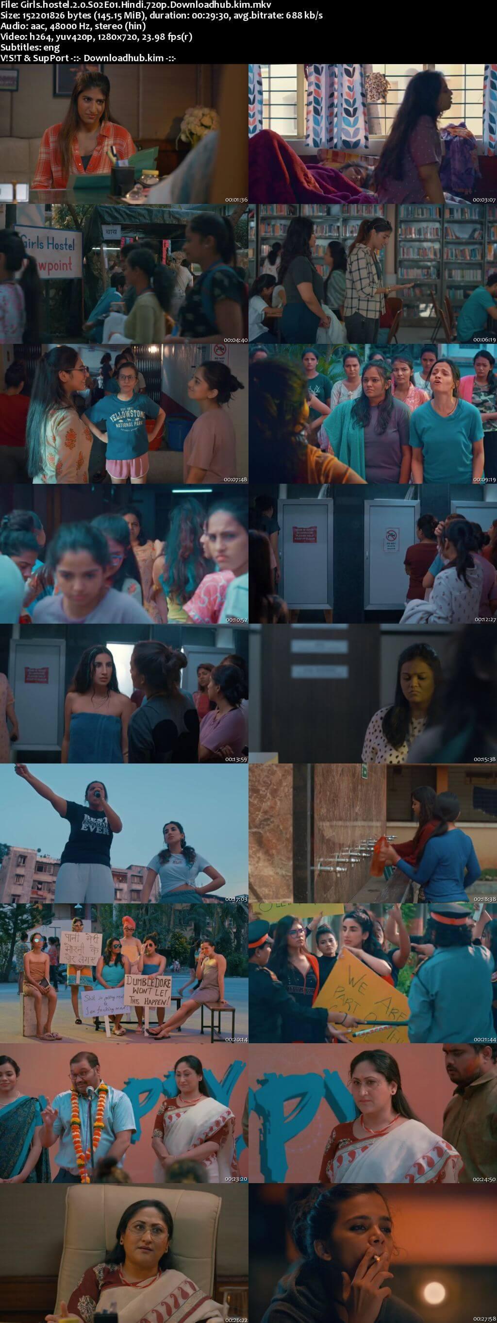 Girls Hostel 2.0 2021 Hindi Season 02 Complete 720p HDRip ESubs