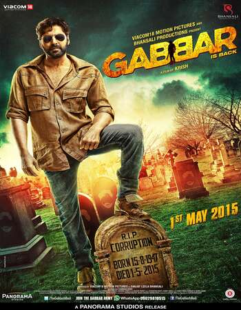 Gabbar Is Back 2015 Hindi 720p BluRay ESubs