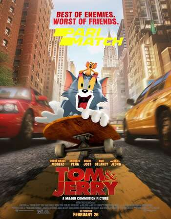 Tom and Jerry 2021 Hindi (Cleaned) Dual Audio 550MB Web-DL 720p HEVC
