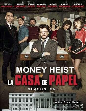 Money Heist 2017 S01 Complete Hindi Dual Audio 720p Web-DL MSubs
