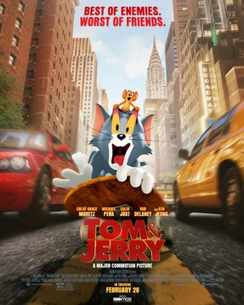 Tom and Jerry 2021 Dual Audio Hindi English Web-DL 720p 480p Movie Download