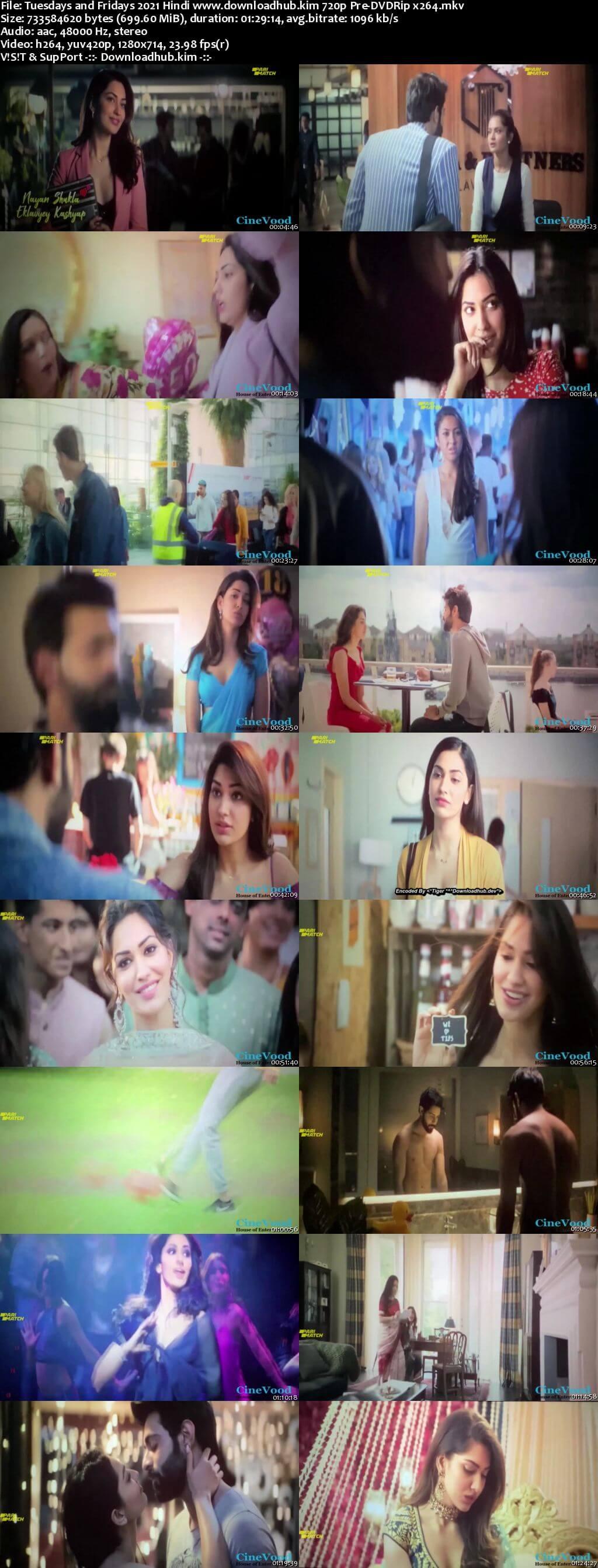 Tuesdays and Fridays 2021 Hindi 720p 480p Pre-DVDRip x264