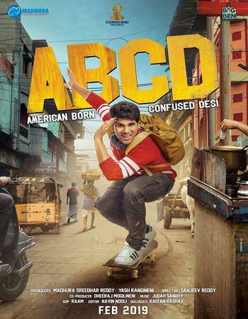 ABCD American-Born Confused Desi 2019 Hindi Dual Audio 750MB UNCUT HDRip 720p HEVC