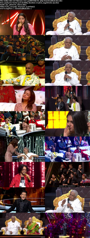 Indian Idol 21 February 2021 Episode 26 Web-DL 480p