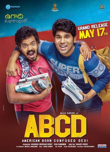 ABCD American Born Confused Desi 2019 Dual Audio Hindi Telugu HDRip 720p 480p Movie Download