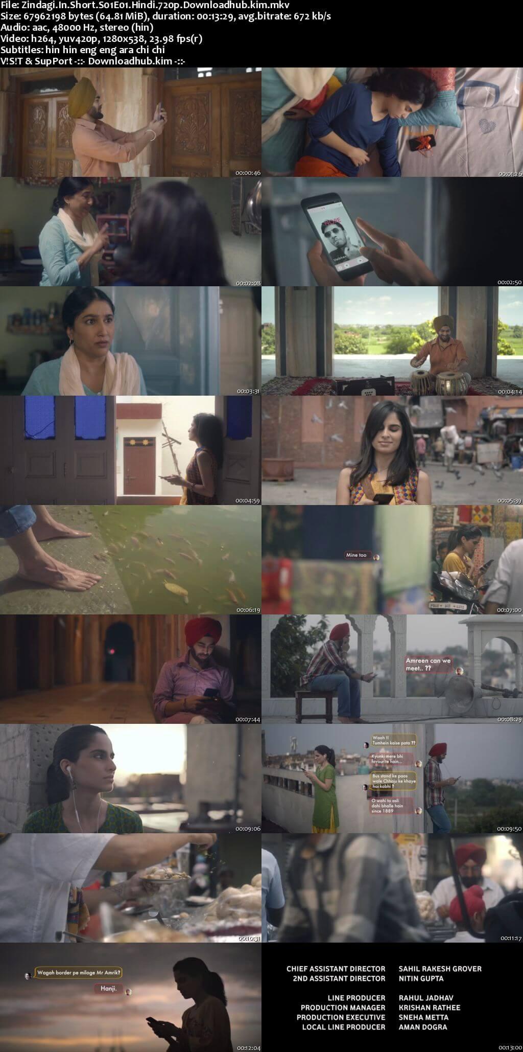 Zindagi In Short 2020 Hindi Season 01 Complete 720p HDRip MSubs