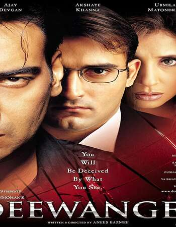 Deewangee 2002 Hindi 800MB HDRip 720p ESubs HEVC