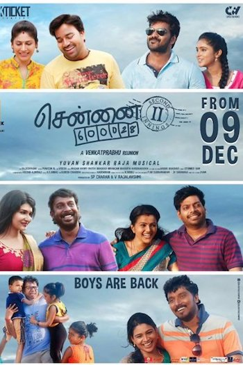 Chennai 600028 II (2016) Hindi Dubbed 480p HDRip 350mb