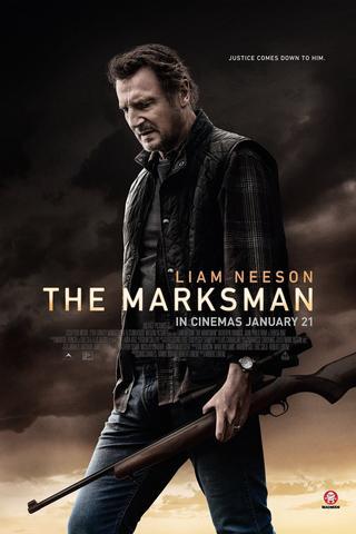 The Marksman 2021 Dual Audio Hindi 480p HDCAM x264 300MB