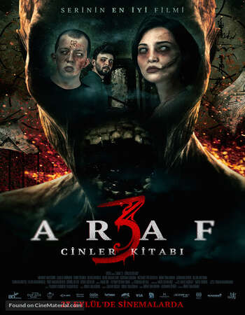 Araf 3 Cinler Kitabi 2019 Hindi Dual Audio 280MB Web-DL 480p ESubs