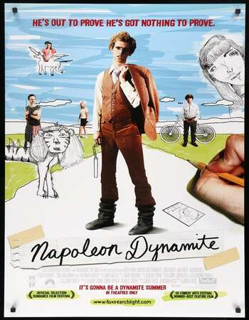 Napoleon Dynamite 2004 Hindi Dual Audio 720p BluRay ESubs