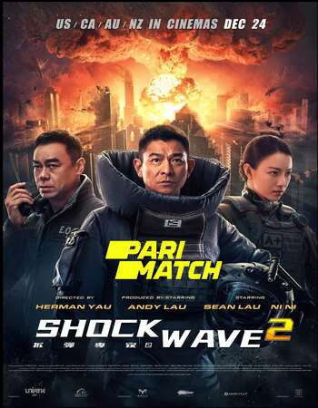 Shock Wave 2 2020 Hindi (HQ DUB) Dual Audio 720p HC HDRip x264