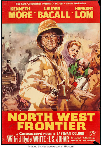 North West Frontier 1959 Dual Audio Hindi 480p BluRay 300MB