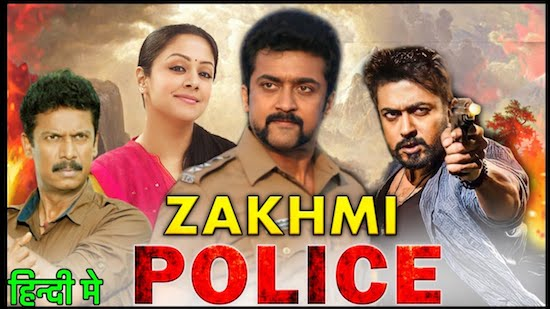 Zakhmi Police 2021 Hindi Dubbed 720p HDRip 950mb