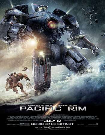 Pacific Rim 2013 Hindi Dual Audio 400MB BluRay 480p ESubs