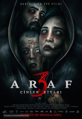 Araf 3 Cinler Kitabi 2019 Dual Audio Hindi 480p WEB-DL x264 300MB ESubs