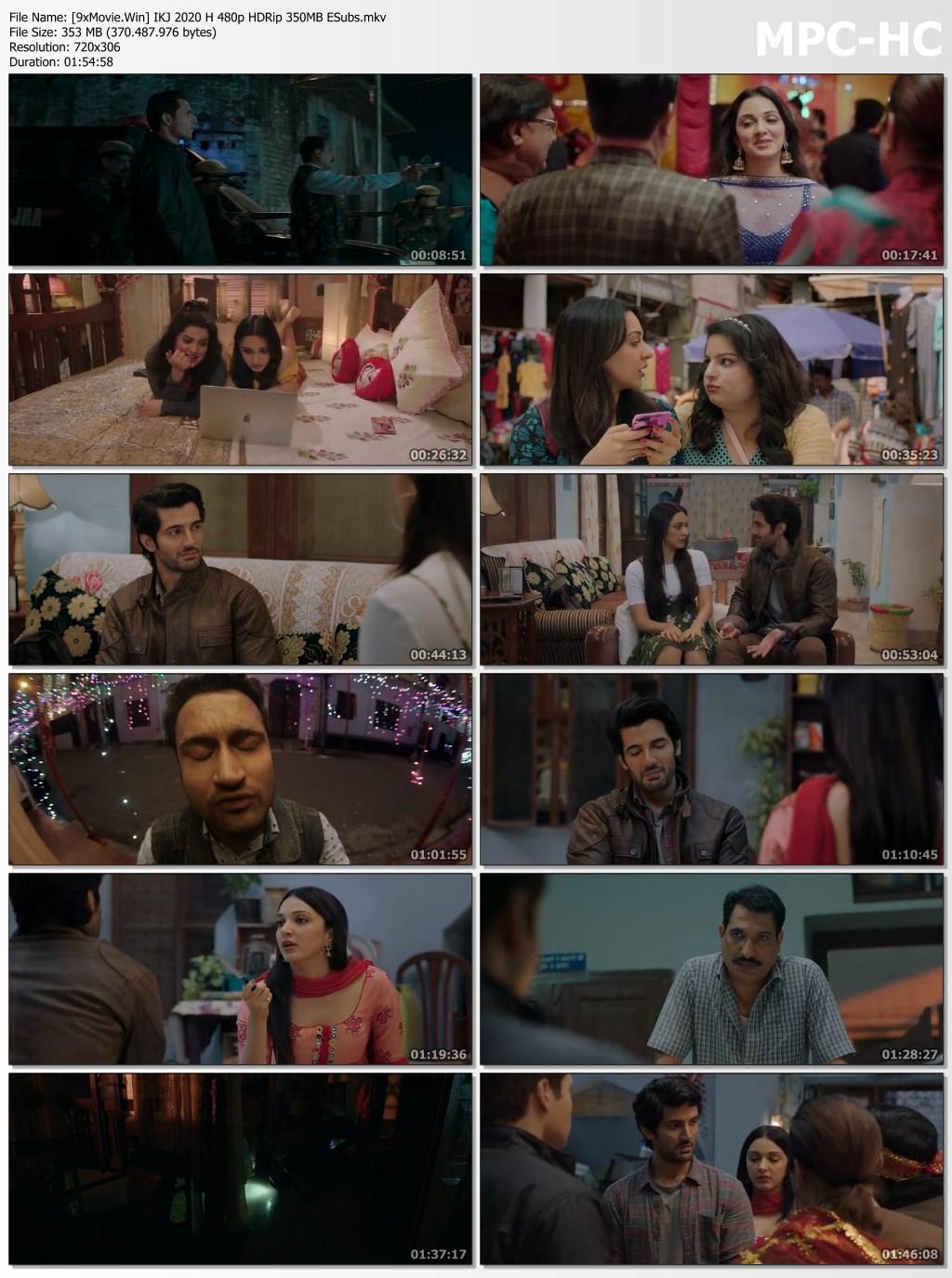 Indoo Ki Jawani 2020 Hindi 480p HDRip x264 350MB ESubs