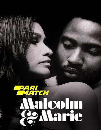 Malcolm And Marie 2021 Hindi (HQ DUB) Dual Audio 720p WEBRip x264