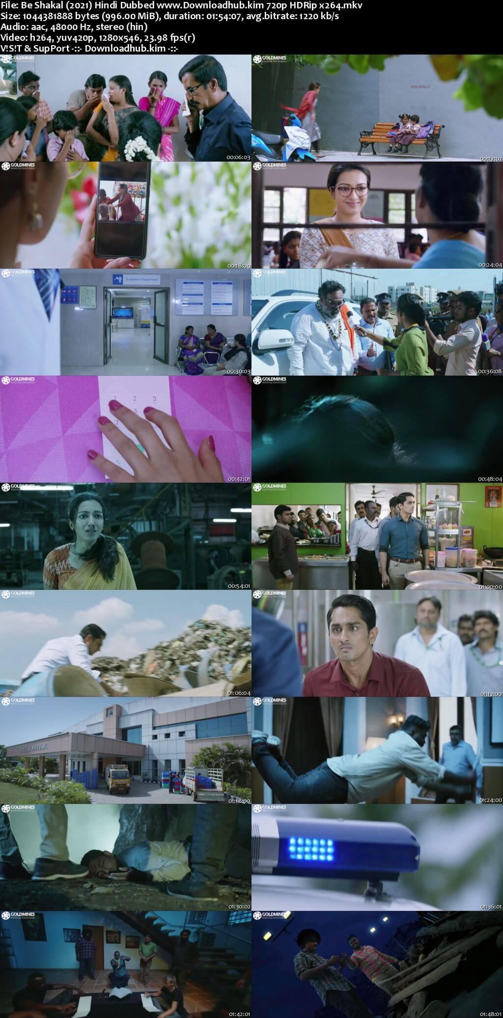 Be Shakal 2021 Hindi Dubbed 720p HDRip x264