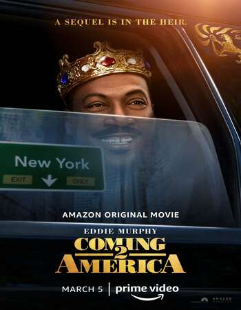 Coming 2 America 2021 English 350MB Web-DL 480p ESubs