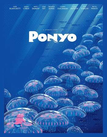 Ponyo 2008 Hindi Dual Audio 350MB BluRay 480p ESubs