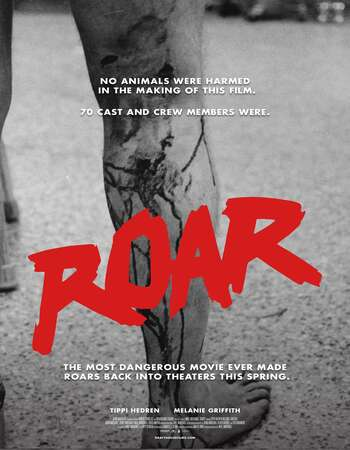 Roar 1981 Hindi Dual Audio 720p BluRay ESubs
