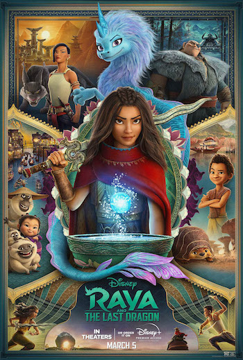 Raya and the Last Dragon 2021 English 480p WEB-DL 300MB ESubs