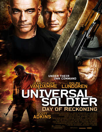 Universal Soldier Day of Reckoning 2012 Hindi Dual Audio 720p BluRay ESubs