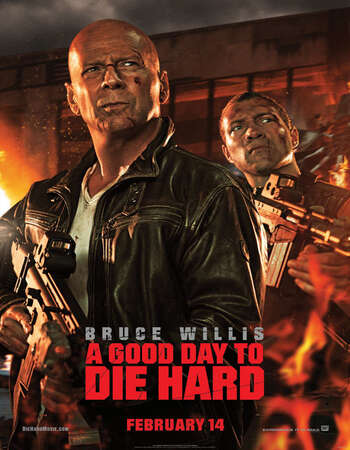 A Good Day to Die Hard 2013 Hindi Dual Audio 300MB BluRay 480p ESubs