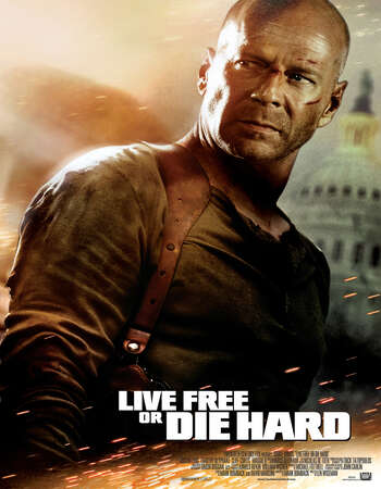 Live Free or Die Hard 2007 Hindi Dual Audio 400MB BluRay 480p ESubs
