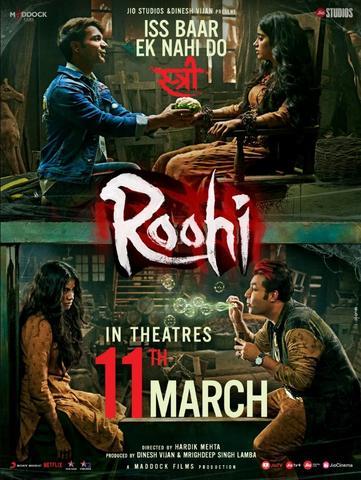 Roohi 2021 Hindi 480p HQ DvDScr x264 400MB
